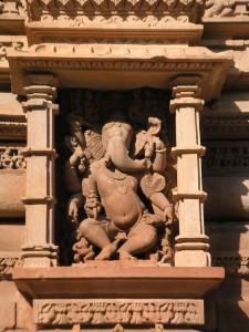 Ganesha - Khâjuraho, Madhya Pradesh